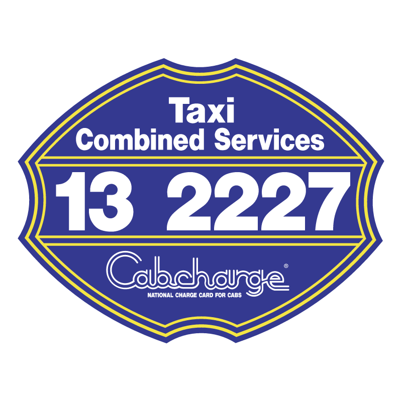 Taxi Combined Services vector logo