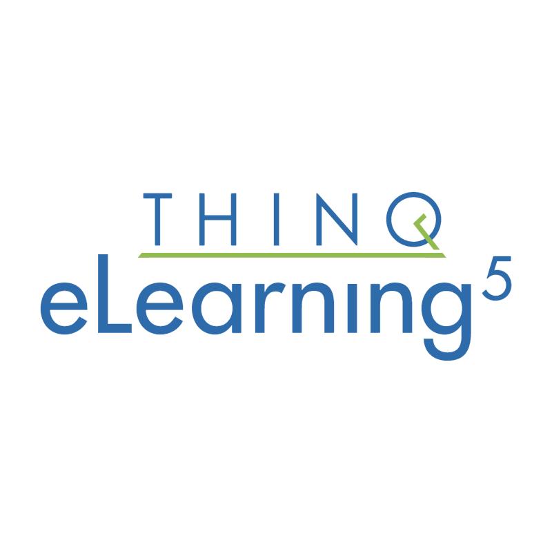 Thinq eLearning5 vector logo