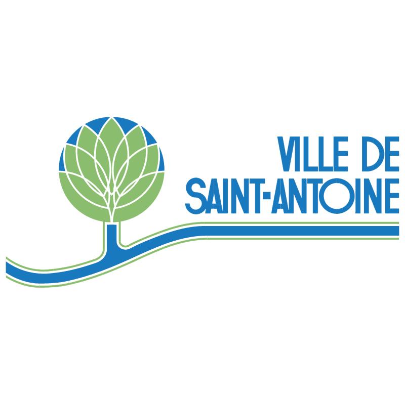 Ville de Saint Antoine vector