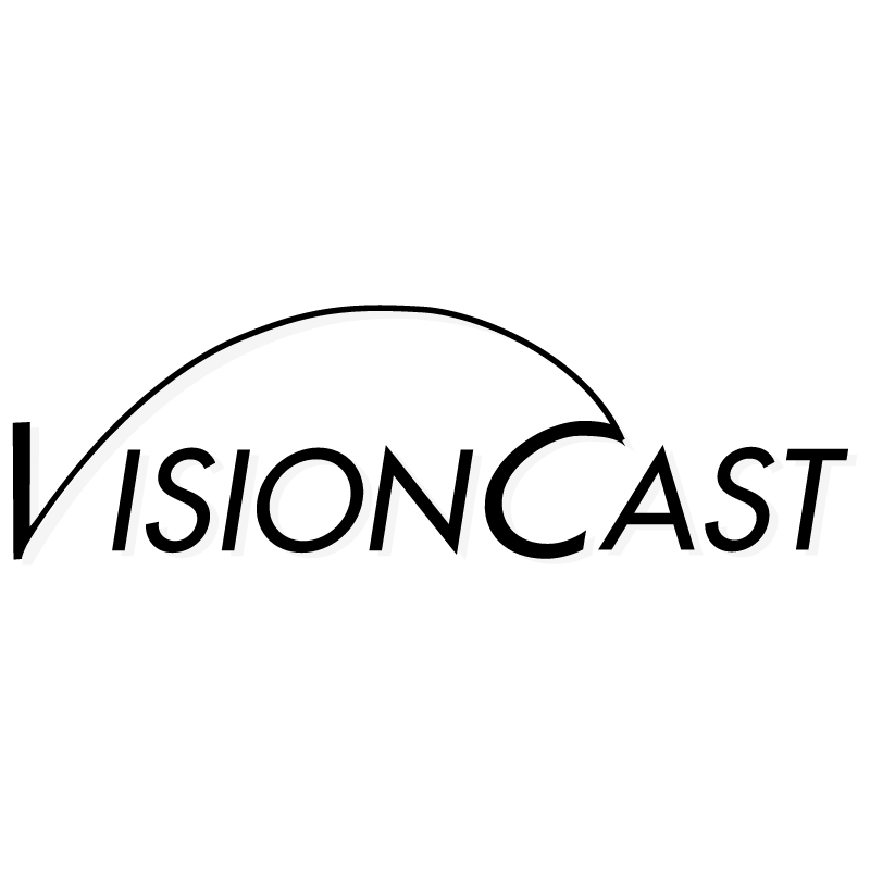 VisionCast vector logo
