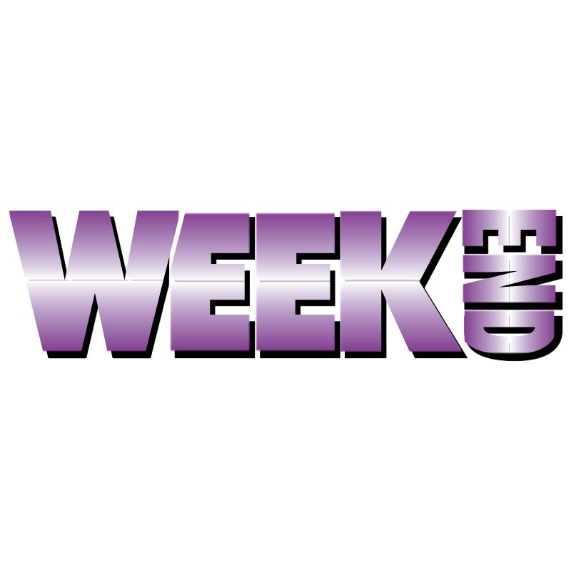 WeekEnd vector logo