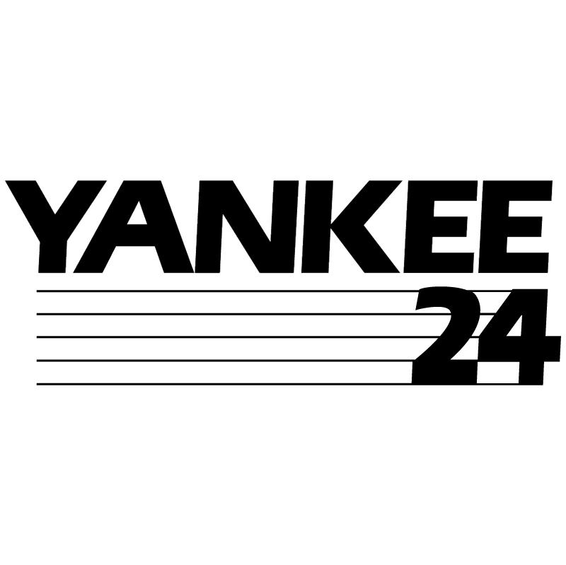 Yankee 24 vector logo