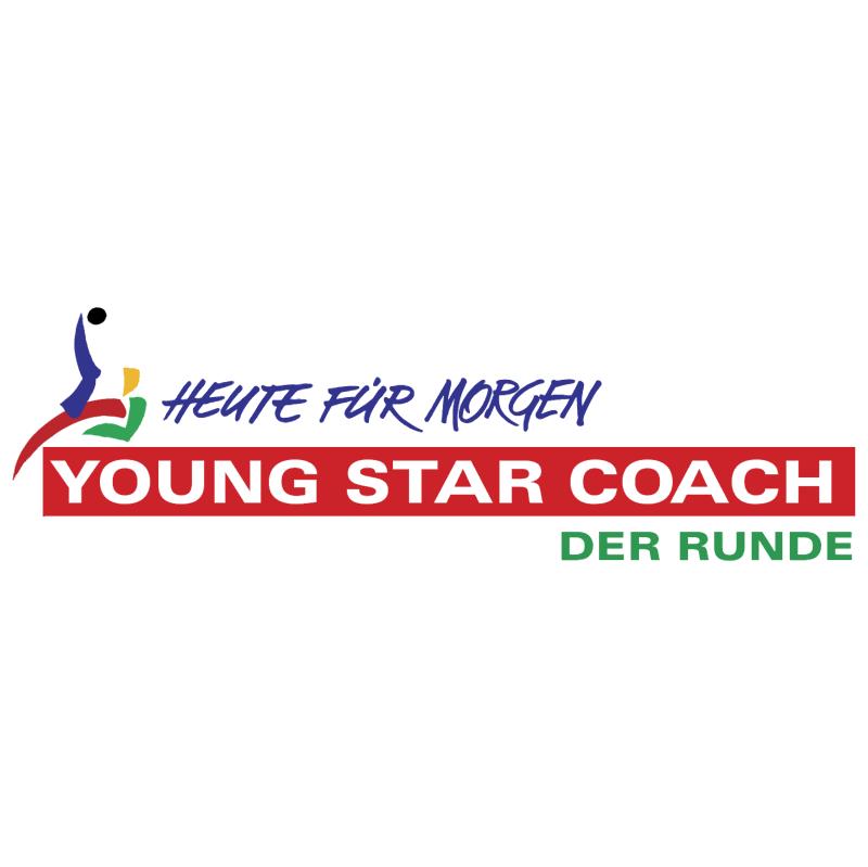 Young Star Coach Der Runde vector