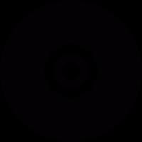 Gramophone record vector