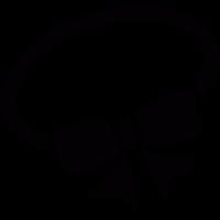 Hair Elastic with a bow vector