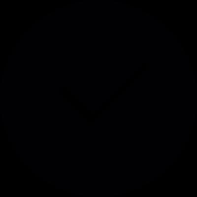 Check Mark Circle vector logo
