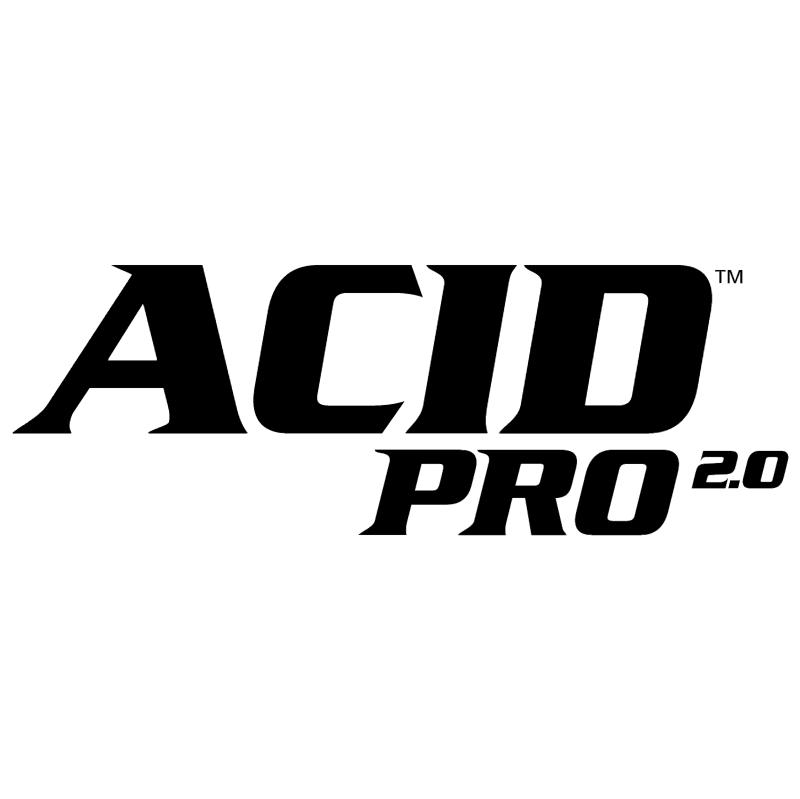 Acid Pro 2 0 vector