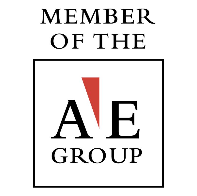 AE Group member 74215 vector