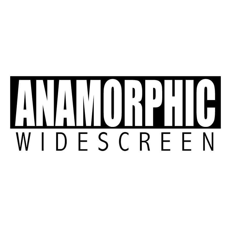 Anamorphic Widescreen vector
