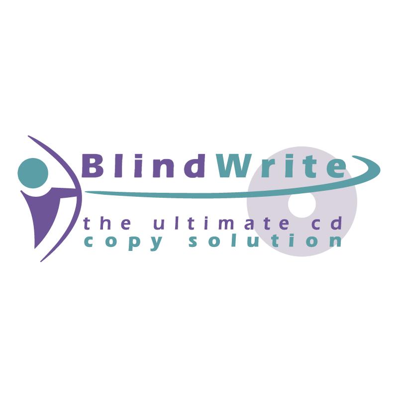 BlindWrite 84596 vector
