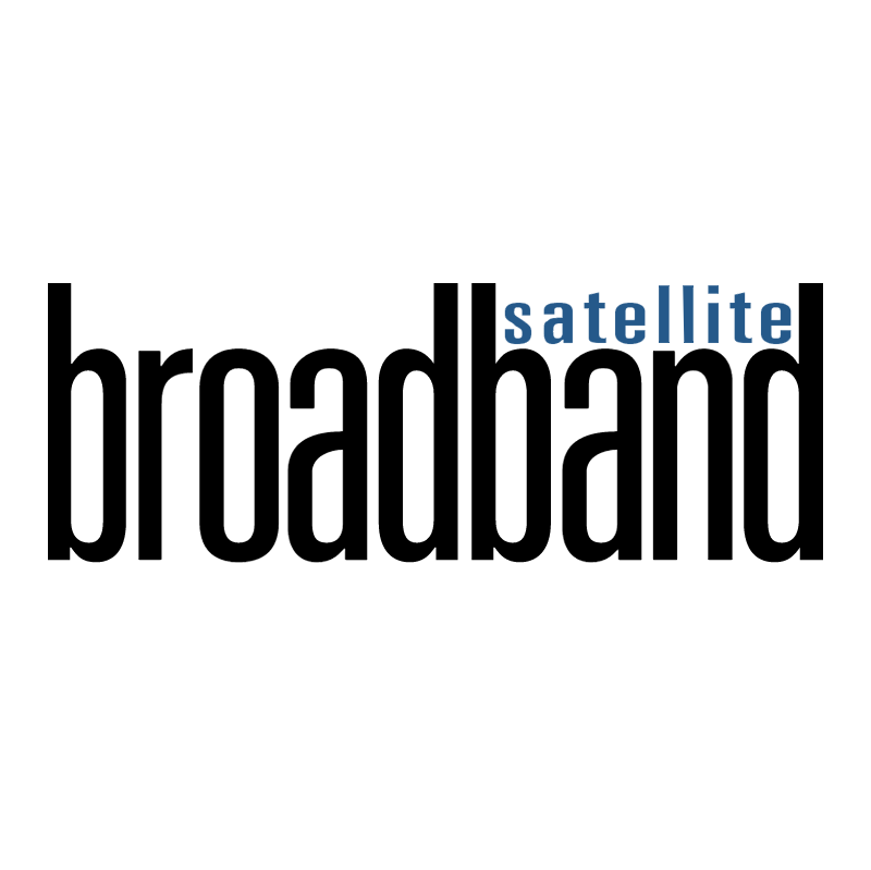 Broadband Satellite vector