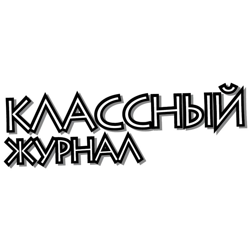 Classniy Zhurnal vector logo