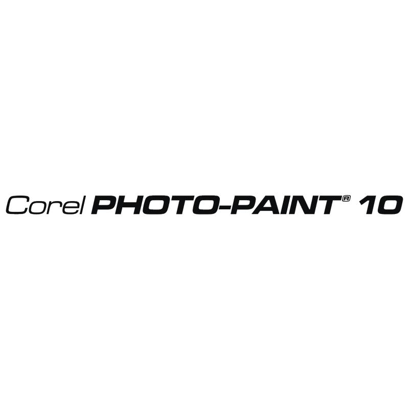 Corel Photo Paint 10 vector