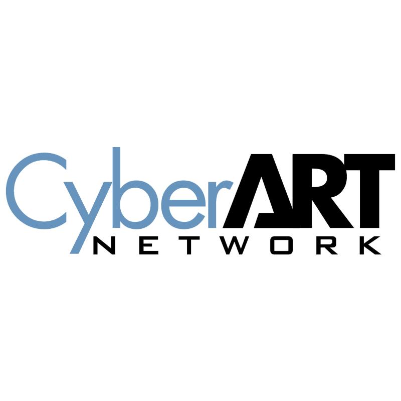 CyberArt Network vector logo