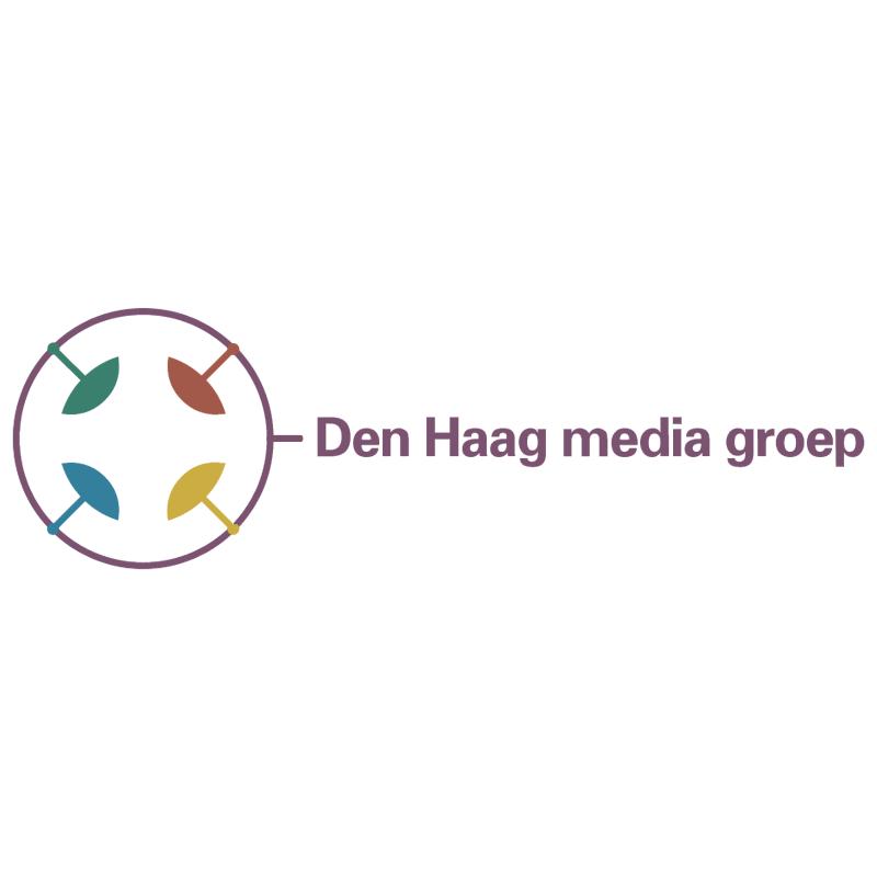 Den Haag media groep vector