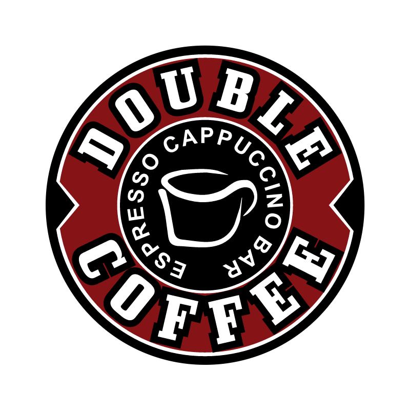 Double Coffee vector logo