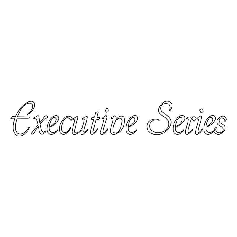 Executive Series vector logo