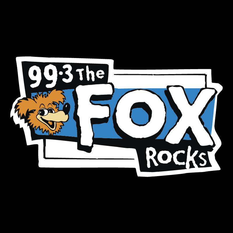 Fox Rocks vector