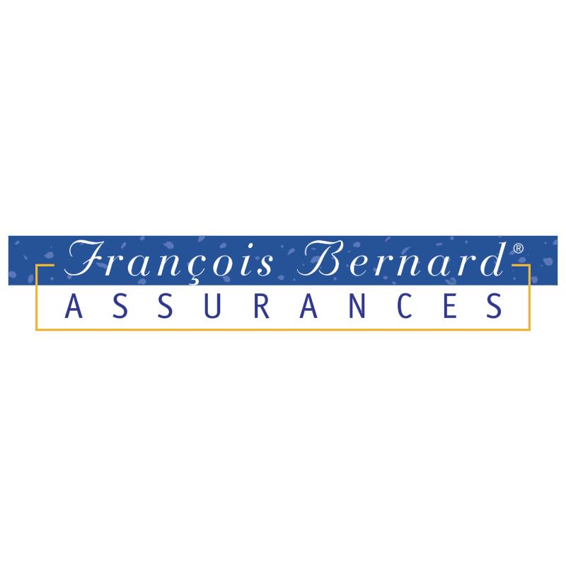 Francois Bernard Assurances vector