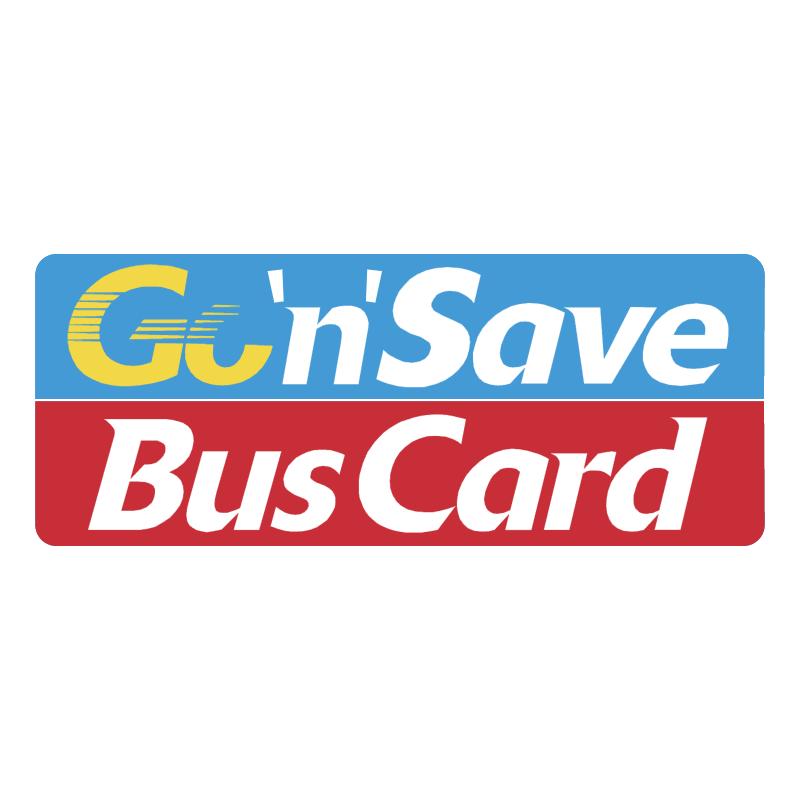 Go'n'Save BusCard vector