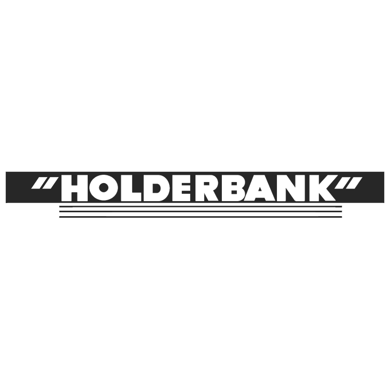 HolderBank vector