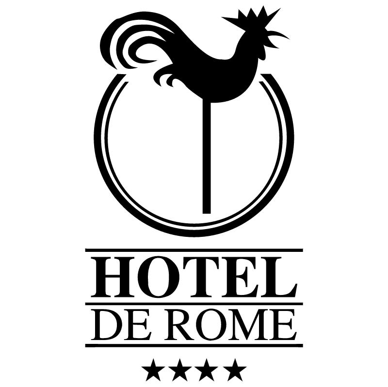 Hotel de Rome vector logo