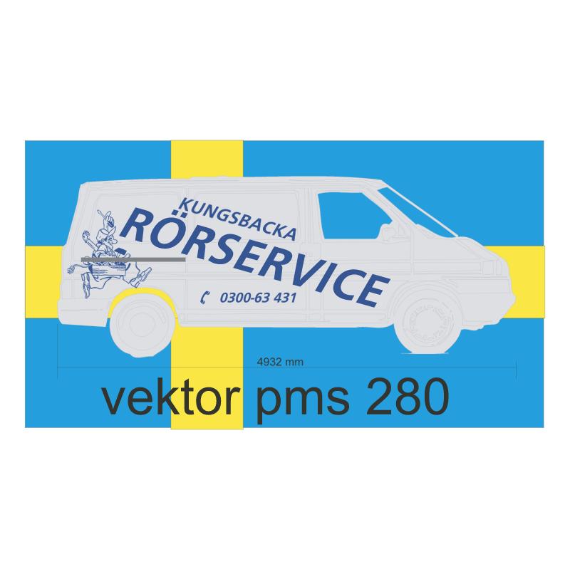 Kungsbacka Rorservice vector