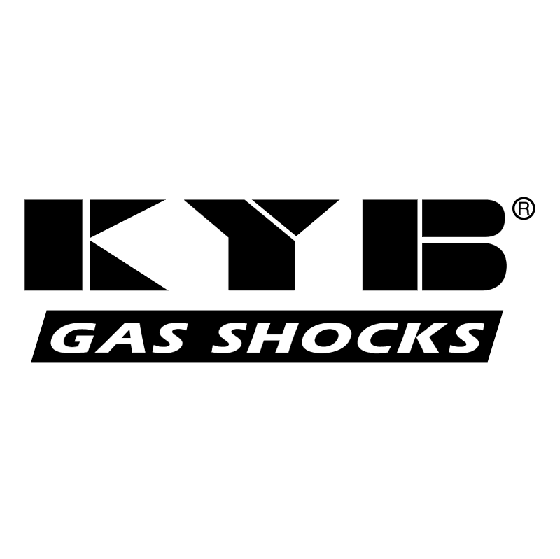 KYB Gas Shocks vector logo