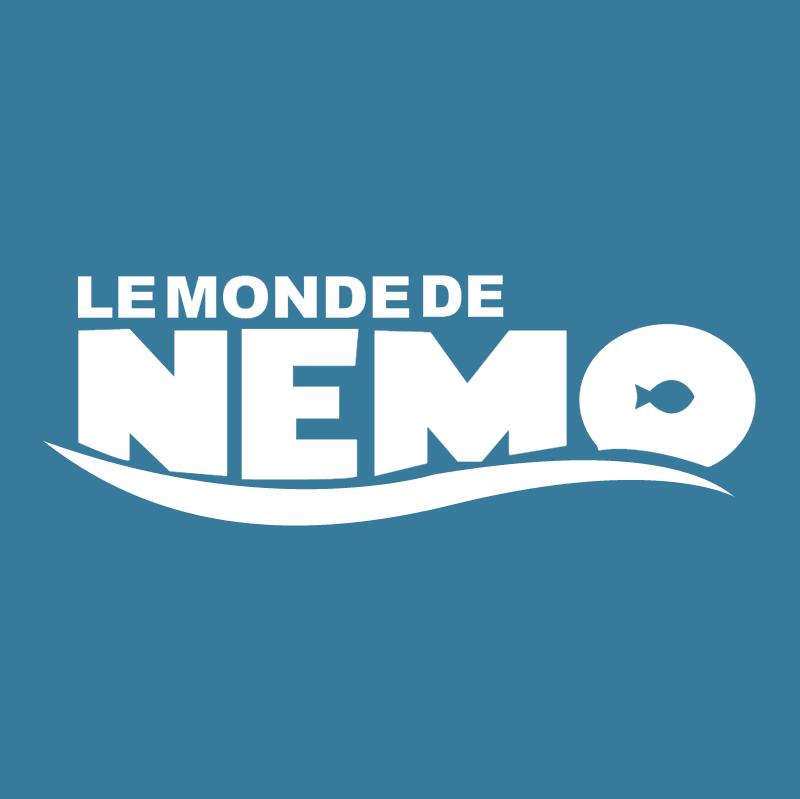 Le monde de Nemo vector logo