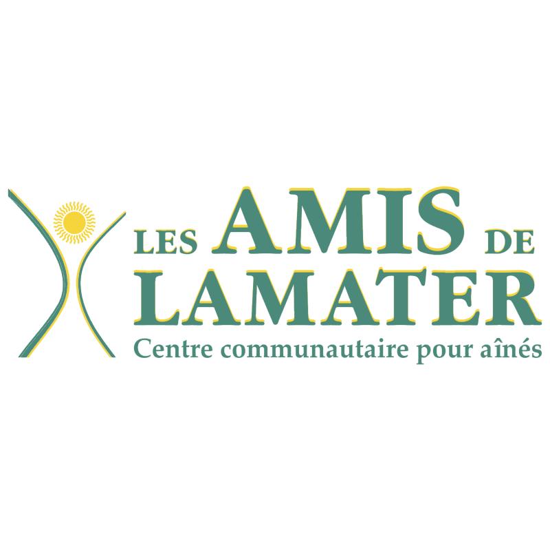 Les Amis de Lamater vector logo