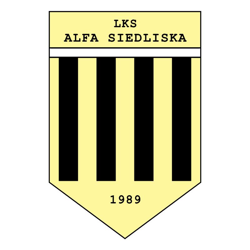 LKS Alfa Siedliska vector