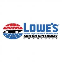 Lowe's Motor Speedway Charlotte vector