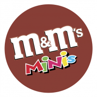 m&m's MINIs vector