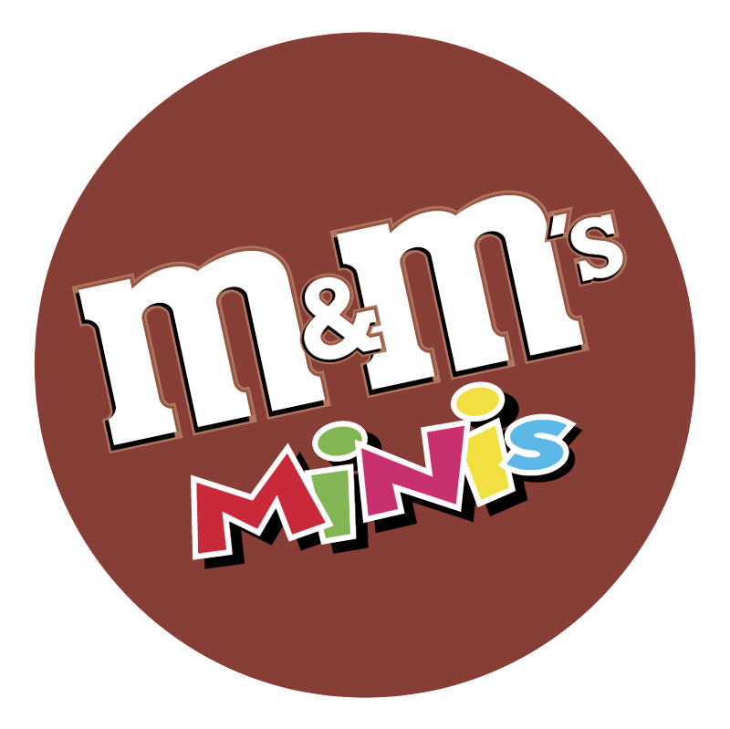 m&m's MINIs vector logo