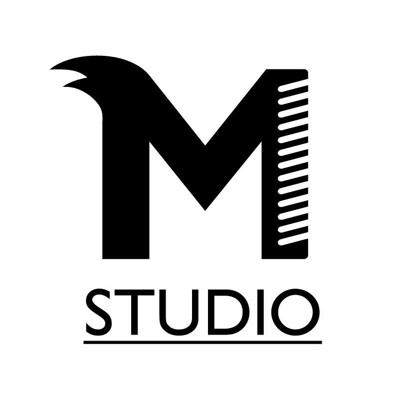 M studio vector logo