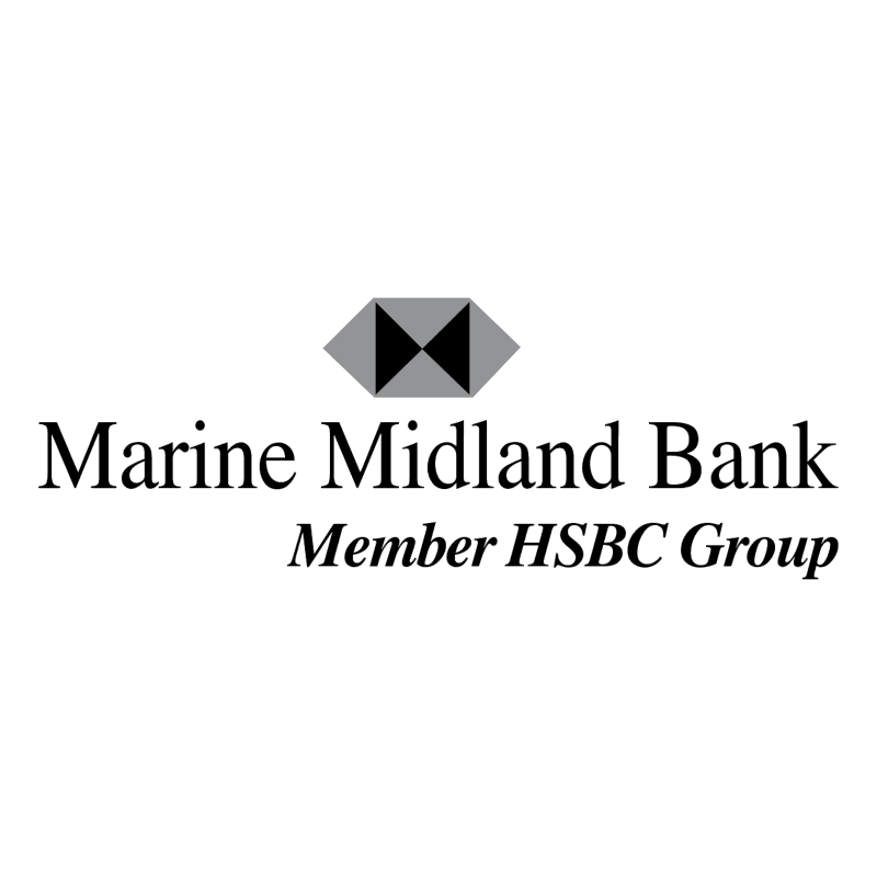 Marine Midland Bank vector