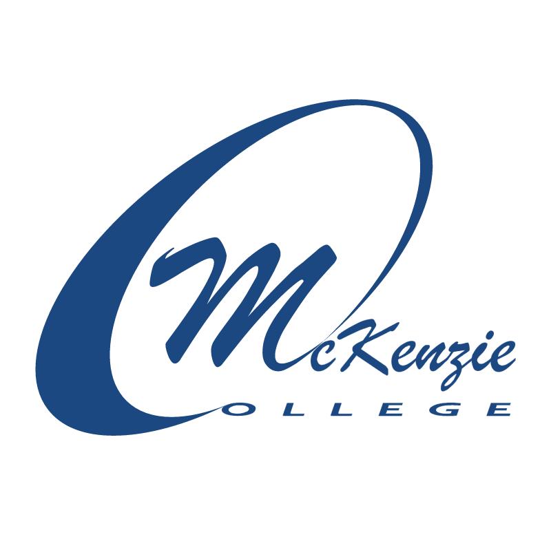 McKenzie College vector