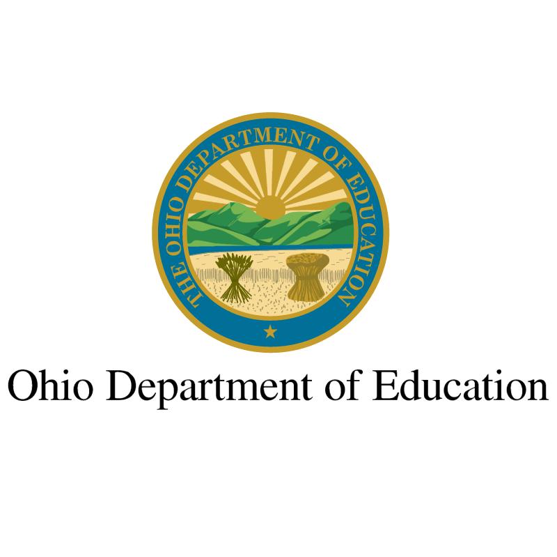 Ohio Departament of Education vector