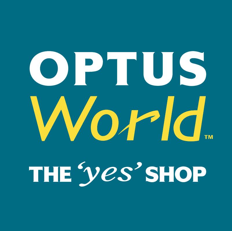 Optus World vector logo