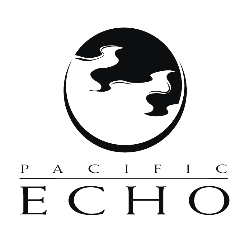 Pacific Echo vector logo