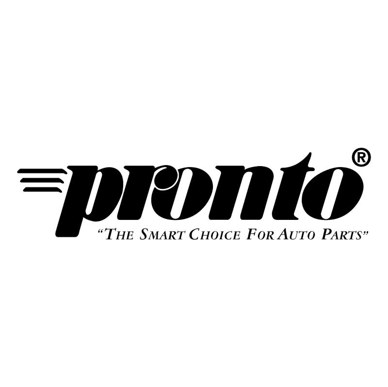 Pronto vector logo