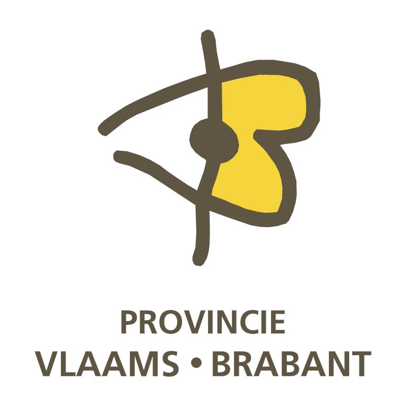 Provincie Vlaams Brabant vector