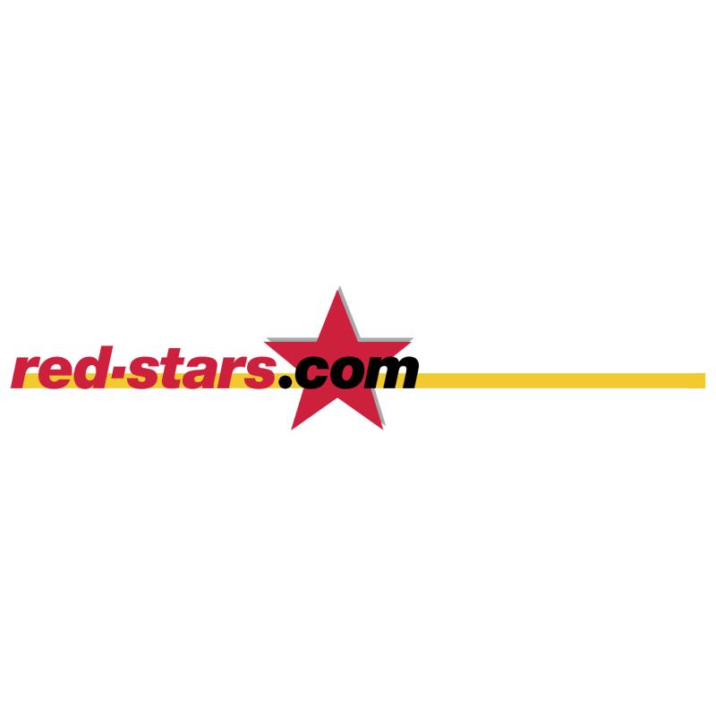 red stars com vector