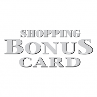 Shopping Bonus Card vector