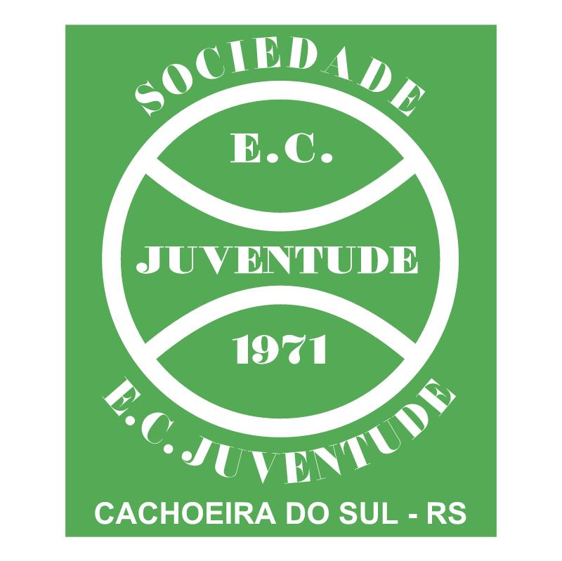 Sociedade Esportiva e Cultural Juventude de Cachoeira do Sul RS vector logo
