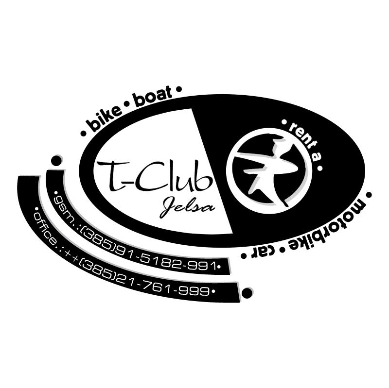 T club vector logo
