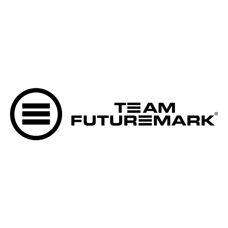 Team FutureMark vector