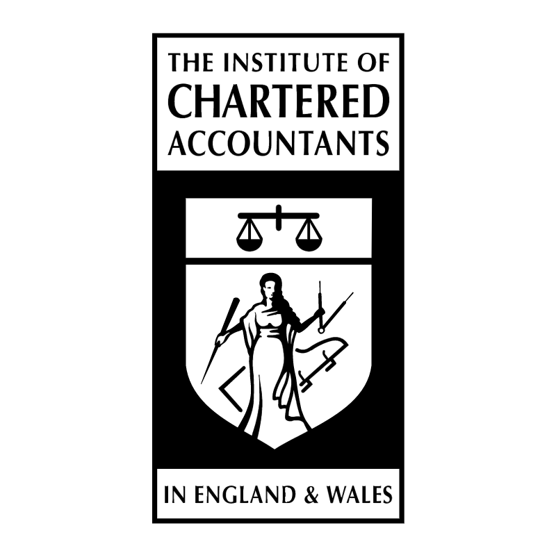 The Institute of Chartered Accountants vector