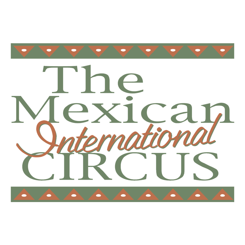 The Mexican International Circus vector