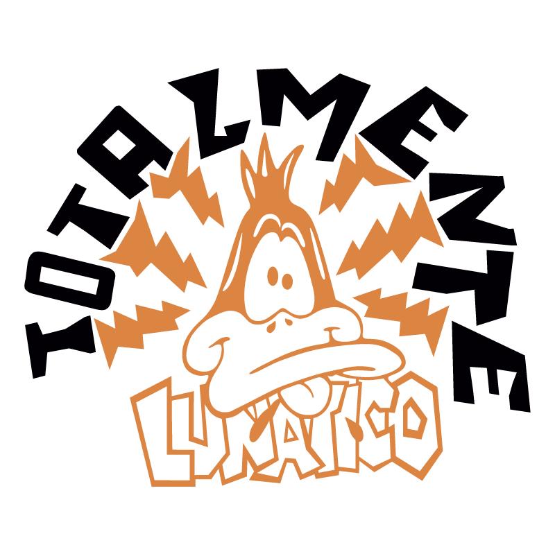 Totalmente lunatico vector logo